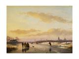 Enjoying the Ice  1855