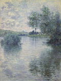 The Seine at Vetheuil  1879