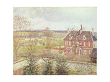 View of the Home for the Deaf-Mute from the Window of the Studio  1886
