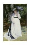 Lise with a Parasol (Lise - La Femme a L'Ombrelle)  1867