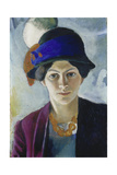 Wife of the Artist with Hat  1909