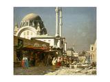 A Market Bazaar in Constantinople