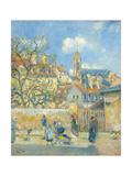 Le Parc Aux Charrettes  Pontoise  1878