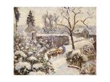 Snow at Montfoucault  1891