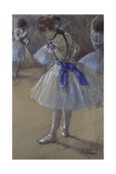 Dancer Tying a Bow