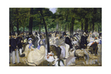 Music in the Jardin Des Tuileries  1862