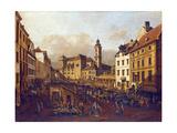 Die Freyung in Wien  Ansicht Von Suedost