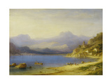 Lake Como with Boats  1869