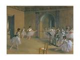 Le Foyer De La Danse a L'Opéra De La Rue Le Peletier  1872