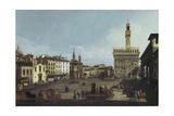 Piazza Della Signoria  Florence (1740-45)