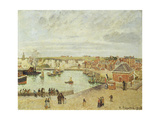 The Harbour at Dieppe  1902