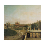 London  Whitehall and Privy Garden as Seen from the Richmond House  1746-47