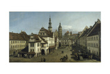The Market Place  Pirna  1753-54