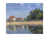 The Banks of the Loing  Saint-Mammes  1885