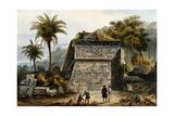 Ruins of the Pyramid of Xochicalco (Ruinas De La Piramide De Xochicalco)
