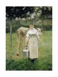The Farm Maid  1887