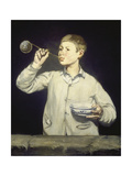 Boy Blowing Bubbles  1867