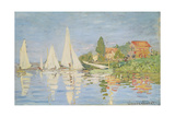 Regatta at Argenteuil  C 1872