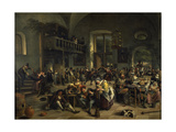 Dance in a Large Tavern  1676