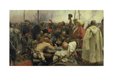 The Zaporozhye Cossacks Writing a Letter to the Turkish Sultan  1880-91