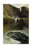 The Geltenbachfall in Winter  1778