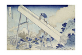 In the Totomi Mountains'  from the Series 'Thirty Six Views of Mount Fuji'