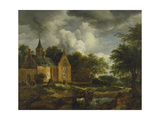 Landscape with Old Church