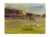 Horse Racing Track in Ruhleben  1920