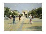 Paris  Avenue Du Bois De Boulogne