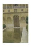 Patio De La Alberca  Granada  1917