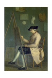 Self-Portrait at the Easel  1785
