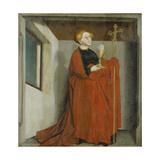 Ecclesia (Heilsspiegelaltar  Exterior Wing)  C 1435