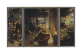 Holy Night (Triptych)  1888-89