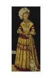 Portrait of Duchess Katharina Von Mecklenburg  1514