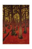 The Forest with Red Earth  C 1891