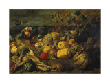 Still Life of Fruits and Vegetables  1620s