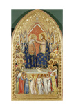 Coronation of Virgin Mary with Angels and Saints