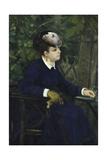 La Femme a La Mouette  1868