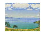 Lake Geneva Seen from Chexbres  1905
