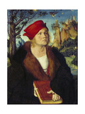 Portrait of Dr  Cuspinian  Ca  1502-03