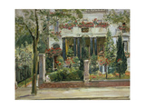Front Garden of the Steinbart'Sche Villa  Berlin  1911