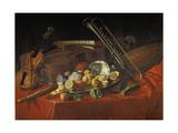 Stillleben Mit Musik-Instrumenten