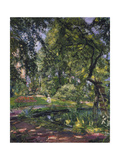 Garten at Godramstein with Crooked Tree  1910