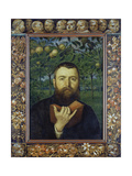 Self Portrait with Book  1880