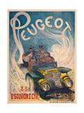Advertising Poster for Peugeot  1904