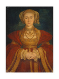 Portrait of Anne of Cleves  1539