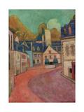 La Rue Rose a Pont-Aven  1892