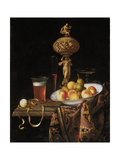 Fruit Bowl  a Beer Glass  a Wine Glass and a Statuette