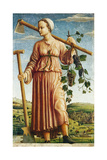 The Muse Polyhymnia  Inventor of Agriculture