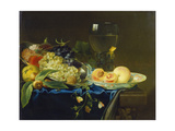 Still Life with Fruit and Rummer  1758